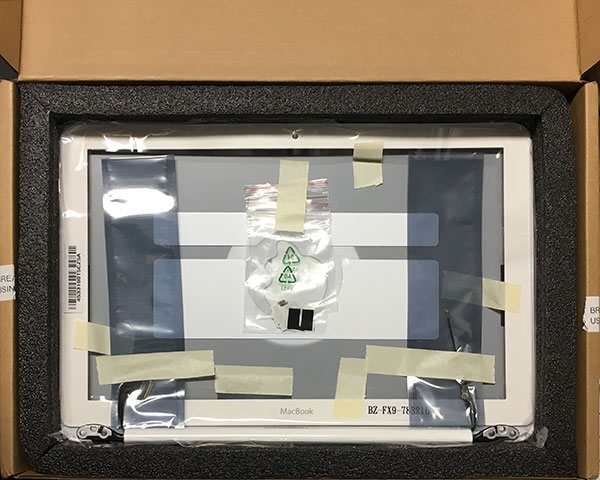 MacBook White Complete Display Housing (2010)