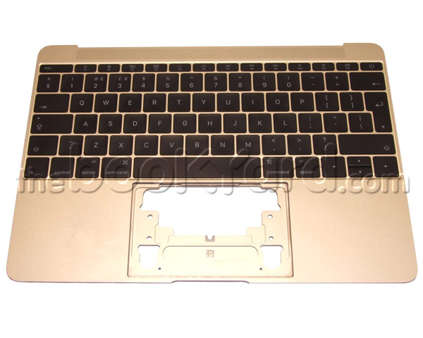 "MacBook Retina 12"" Top Case & UK Keyboard - Gold (16)"