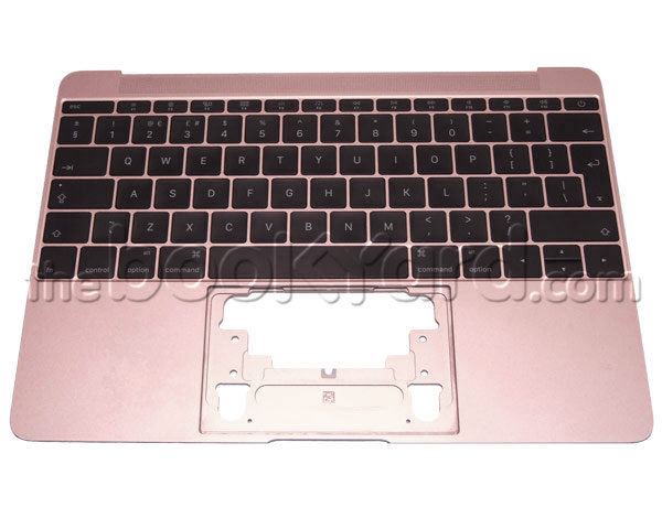 "MacBook Retina 12"" Top Case & UK Keyboard - Rose Gold (16)"