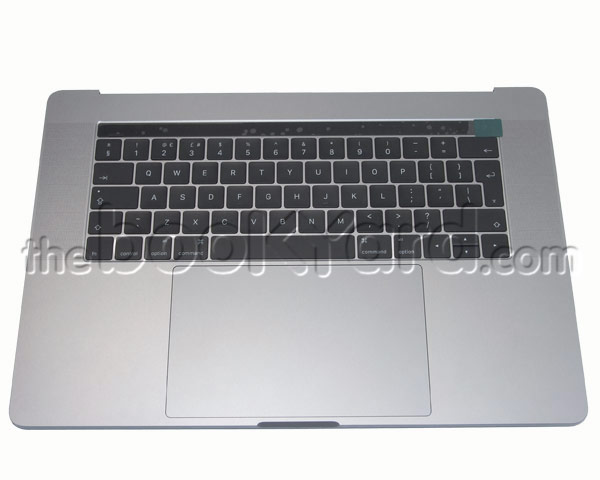 "MacBook Pro 15"" Top Case/Bat/TP UK - Space Grey (16/17)"
