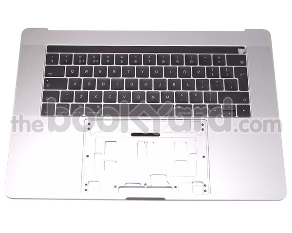 "MacBook Pro 15"" Top Case & KB UK - Silver (16/17)"