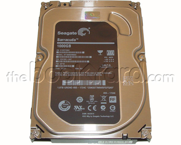 "Apple Branded SG 1TB 3.5"" 7,200rpm SATA Hard Drive (iMac)"