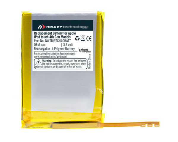 NewerTech iPod Touch 4th gen 1275mAh Battery