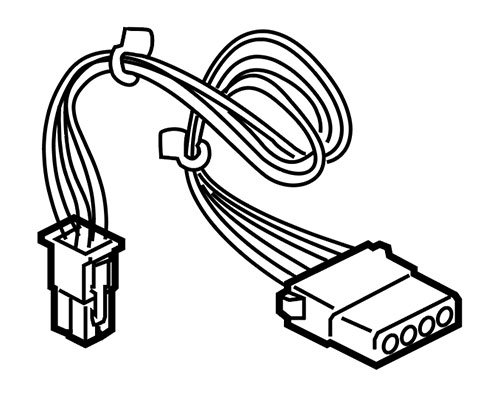 Macintosh LC Hard Drive Power Cable