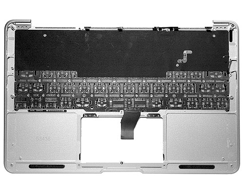 "MacBook Air 11"" Top Case & Keyboard, Danish (10)"
