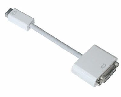 Mini-DVI to DVI display adapter cable