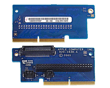 Mac Mini G4 drive interconnect board (1.5GHz)