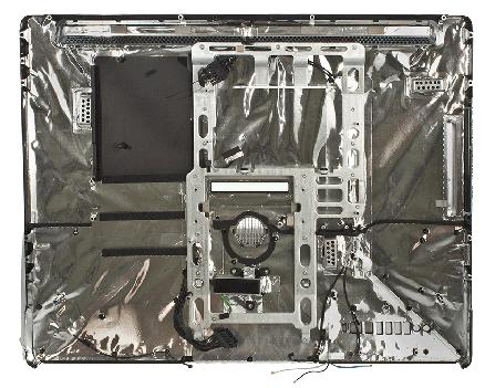 "iMac Alu 24"" Rear Housing Unit (09)"