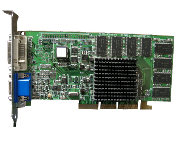PowerMac G4 ATI Rage128 16MB AGP Video Card DVI/VGA