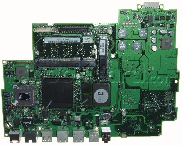 "iBook G4 14"" logic board 933MHz"