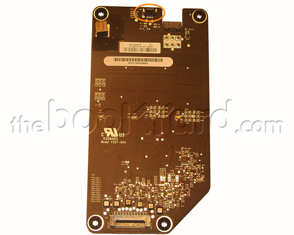 "iMac 27"" LED Backlight Board V1 (4-Pin) (11)"