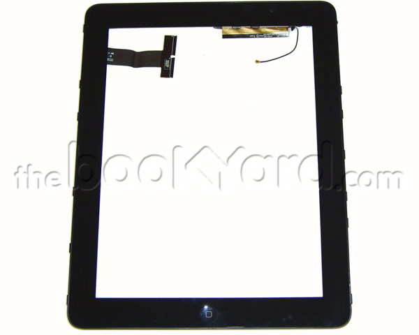 iPad 1 Digitizer with Mid Frame/Home Button - 3G