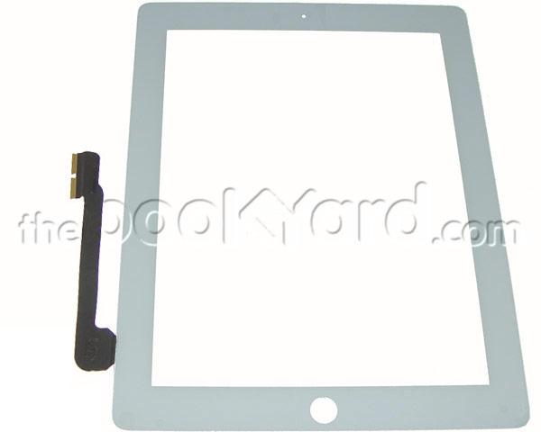 iPad 3 Digitizer/glass Assembly - White Copy