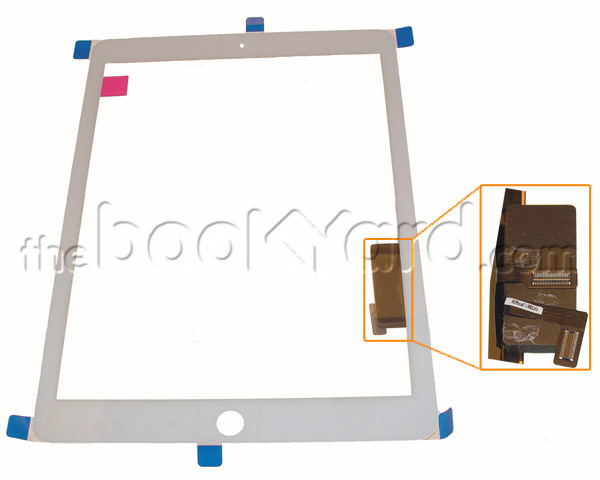 iPad Air Digitizer/glass With Tape - White Original
