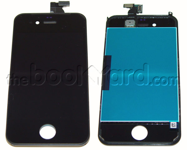 iPhone 4 LCD & Digitizer Full Frame Assembly - Black