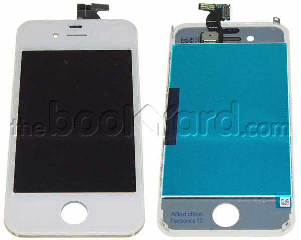 iPhone 4 LCD & Digitizer Full Frame Assembly - White