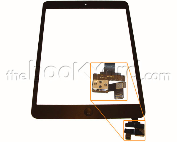 iPad Mini 1/2 Digitizer/glass Assembly - Space Grey 3rd Party