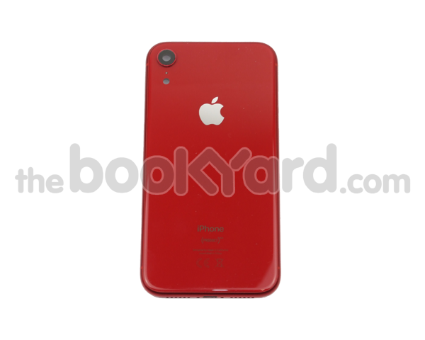iPhone XR Rear Housing Unit - Red