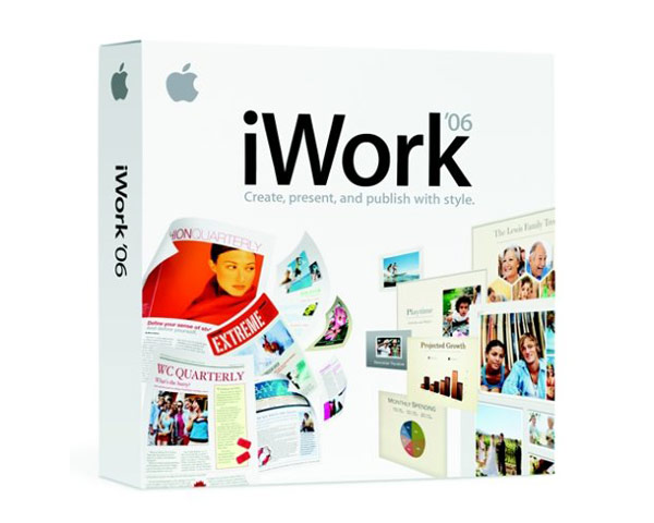 iWork \'06 Full Retail version - Install DVD