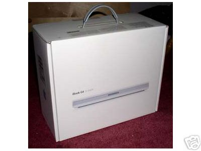 "Apple iBook G4 14"" Computer Box"