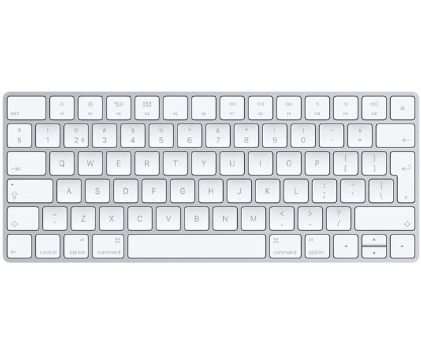 Apple Magic Bluetooth Keyboard - Interntional/w Lightning cable