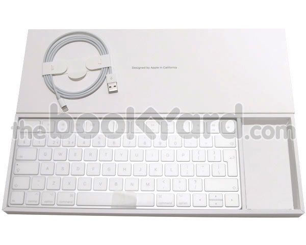 Apple Magic Bluetooth Keyboard, UK + Lightning cable