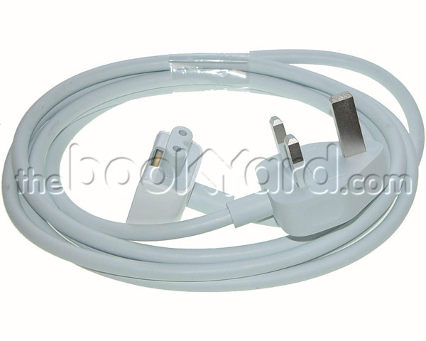 Mains Lead for Apple Laptop Power Supply v2 - UK
