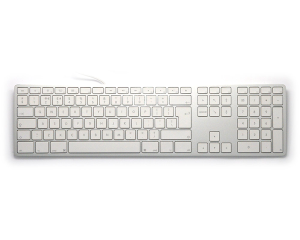Matias Aluminium Keyboard, USB Extended UK