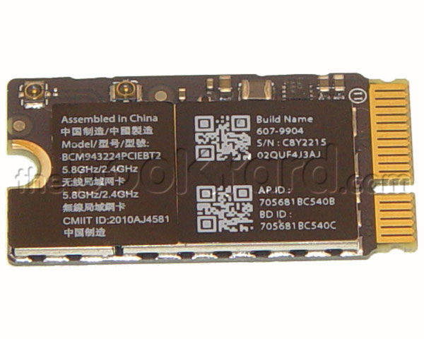 "MacBook Air 11""/13"" AirPort/Bluetooth Card (12)"