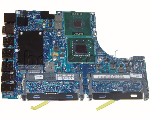 MacBook 2.2GHz Intel Core 2 Duo logic board (SR), Black