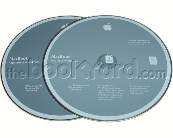 "Unibody Macbook Pro 15"" 10.6.6 Install Disk Set"