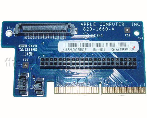 Mac Mini G4 hard disk/optical drive interconnect board