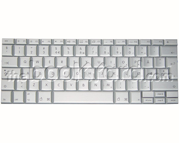 "MacBook Pro 15"" Keyboard Norwegian (08)"