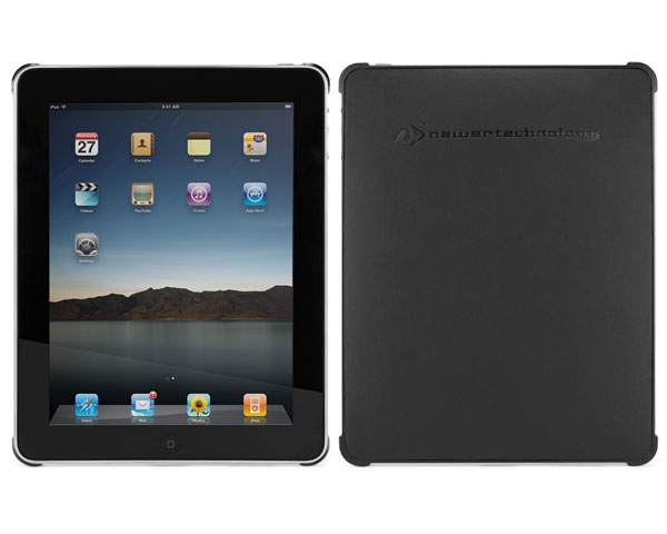 NewerTech iPad NuGuard Case - Black Leather