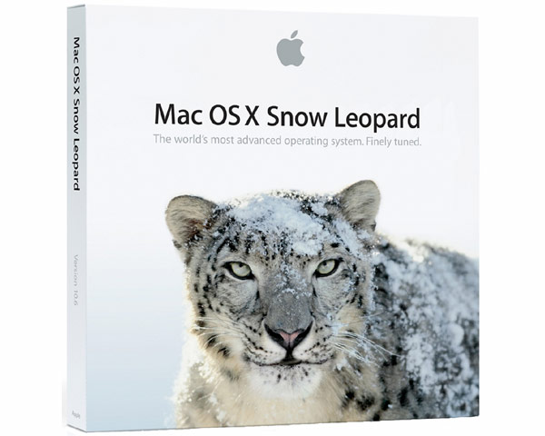 MacOS X 10.6 Snow Leopard retail CPU Drop-in