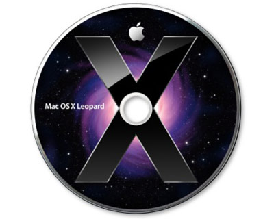 MacOS X 10.5.7 MacBook Pro Unibody system disks (2 disks)