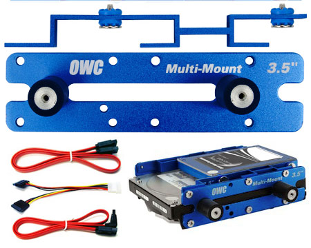 "OWC Multi-mount 1x2.5/3.5"" to 5.25"" kit (06/08 MacPro)"