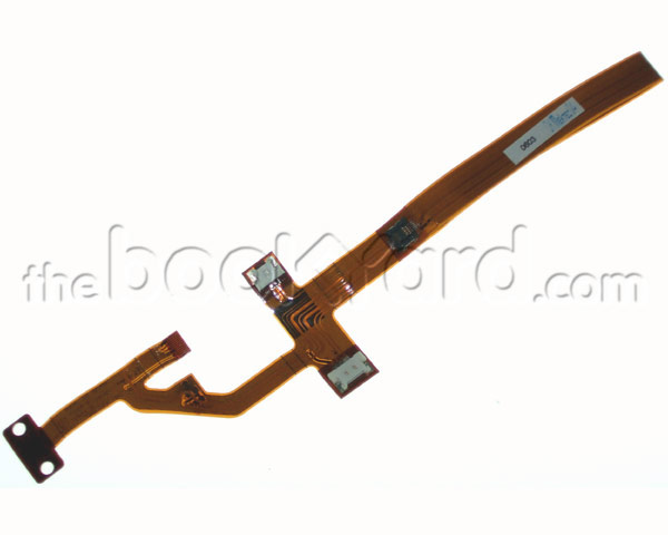 "PowerBook G4 Aluminium 15"" top case flex cable (1-1.5GHz BT1)"
