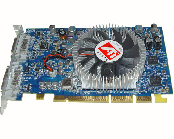 PowerMac G5 ATI Radeon 9800 XT Graphics Card (256MB)