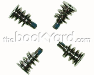 Unibody Macbook Heat Sink Screws and Springs (x4)