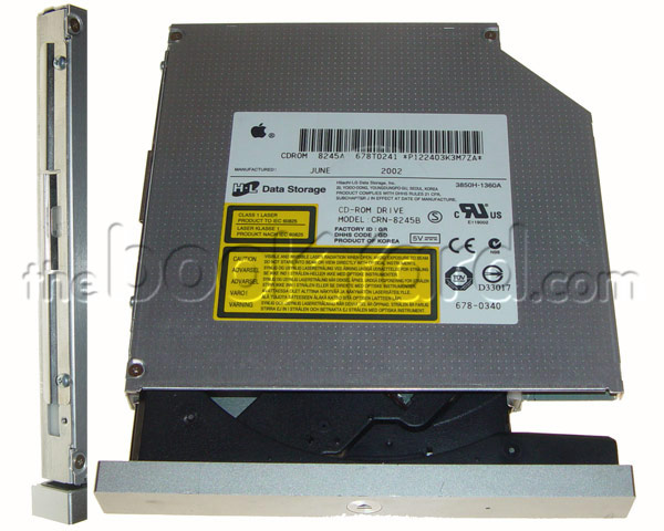XServe G4 Optical Drive and Mounts - CD-ROM (Original 1GHz)