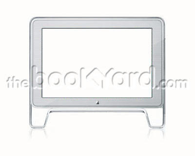 "Apple Studio Display 17"" ADC TFT front bezel"