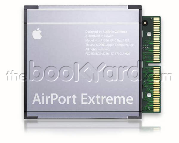 Airport Extreme card. Apple 54Mbps 802.11g
