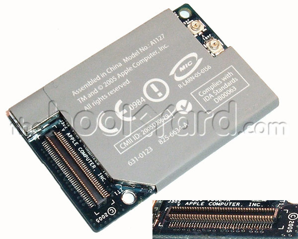 AirPort & Bluetooth Card for PowerBook G4, iMac G5, Mac Mini G4