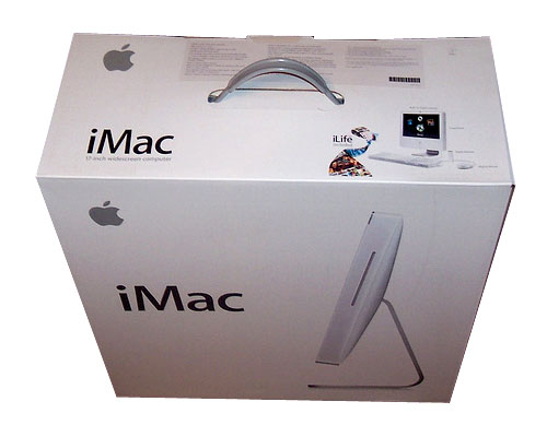 "iMac Intel 17"", White, Box"