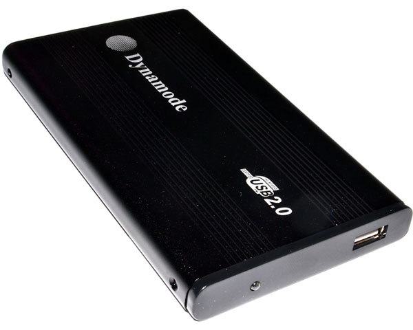 "Pocket drive enclosure for 2.5"" ATA hard disks - USB 2.0"