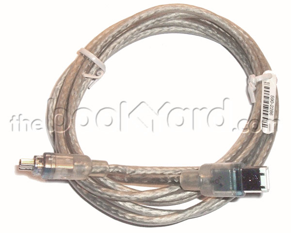 Apple iLink, FireWire, camcorder cable - 6/4 - 1 meter