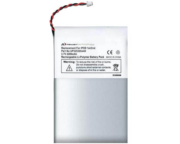 NewerTech iPod 1st & 2nd gen 2200mAh battery