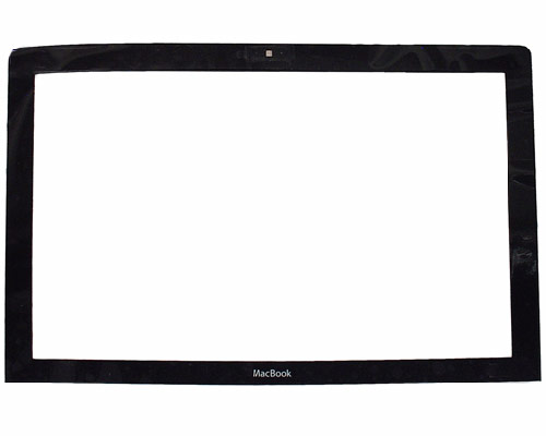 MacBook display bezel & clips, black