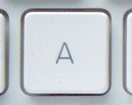View White Unibody MacBook Key Caps ...